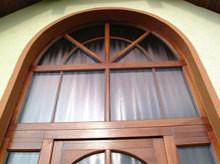Нестандартные окна двери