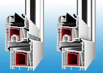установка пятикамерных пластиковых окон