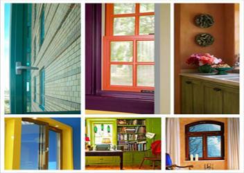 заказать цветные окна пвх