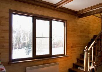 изготовление деревянных окон пвх