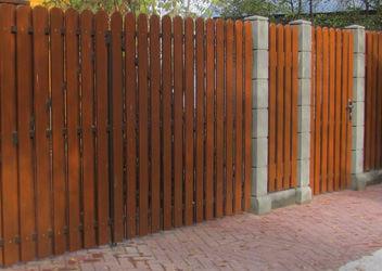 недорогие деревянные заборы