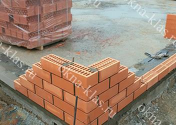 монолитный фундамент плиточный