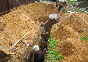 разработка грунта в ручную