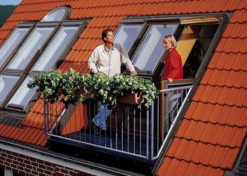 мансардные окна металлопастиковые