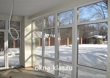 окна с большими створками