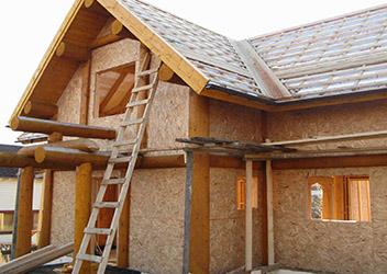 строительство дома из osb плит