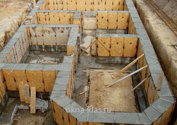 фундамент для дома osb плита