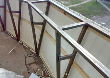 расширение балкона в Ростове на Дну