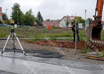 фото участка под фундамент
