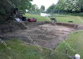 подготовка планировки участка