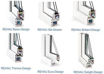 окна Rehau металлопастиковые