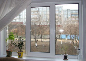 замена стеклопакета на окне пвх