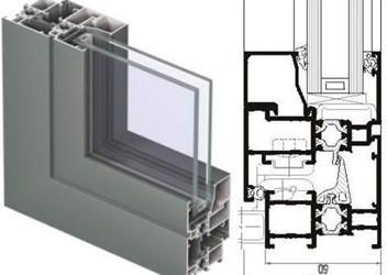 установка алюминиевых конструкций