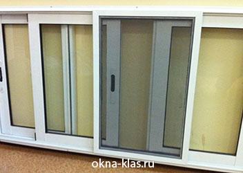 раздвижные сворки на окнах