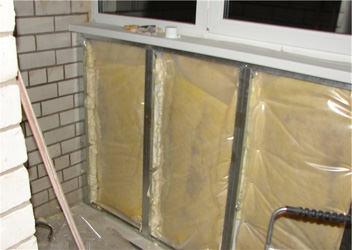 теплоизоляция балконов и лоджий