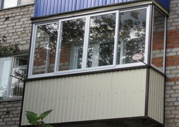 внешняя отделка балкона Ростов-на-Дону