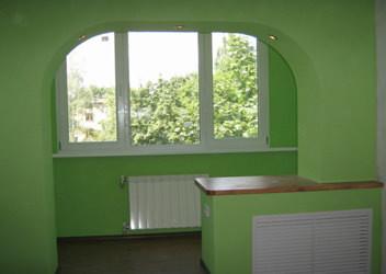 внутренняя обшивка балконов и лоджий
