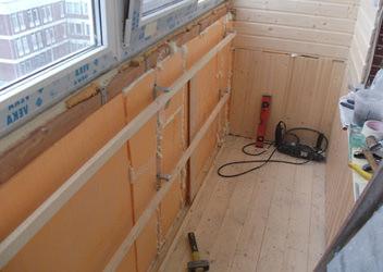 утеплить балкон и лоджию
