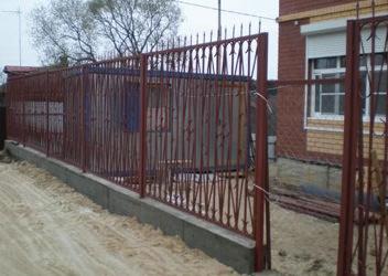 забор металлический недорого